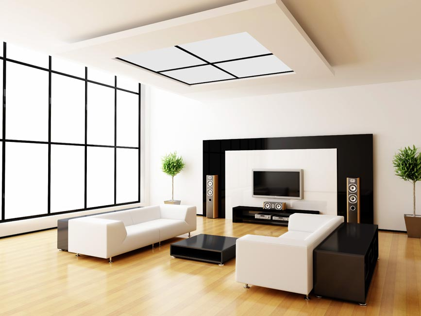 Top modern home interior designers in delhi india fds Modern house interior design