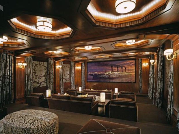 Top luxury home interior designers in delhi india fds - Interior design for home theatre ...