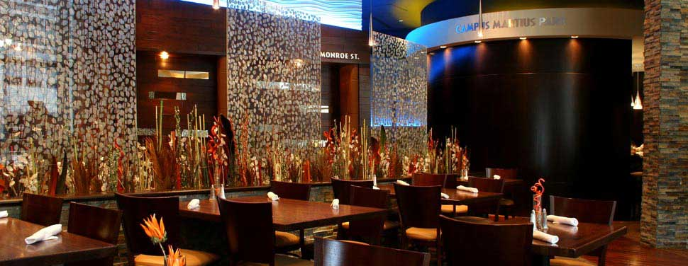 modern theme restaurant interior designers in delhi noida gurgaon