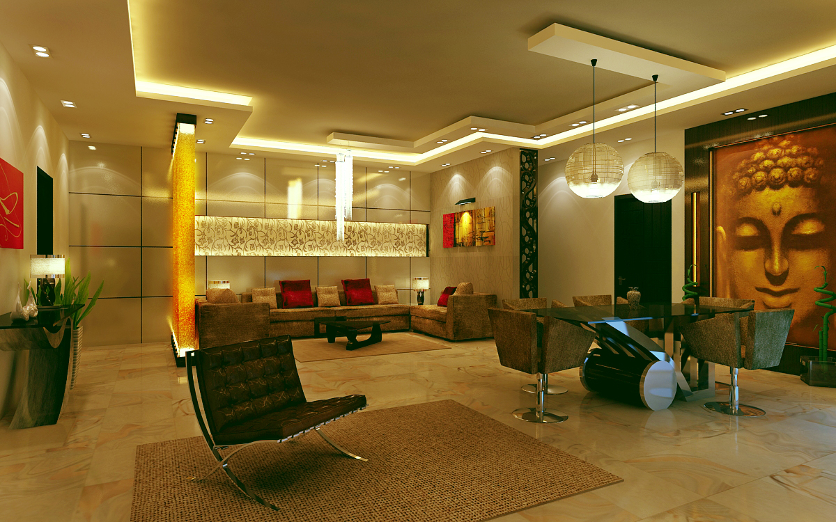 Design only for home interiors office restaurant
